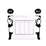 amazing-trading Home Mural Panda Switch Sticker Wall Quote Wall Stickers by amazing-trading