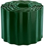Connex FLOR14215 Bordure de Pelouse PVC Vert 150 mm x 9 m