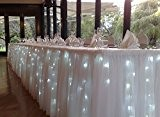 fitTek GUIRLANDE ELECTRONIQUE 40LEDS LUMIERE BLANC DECOR FETE