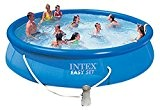 Intex 28162 Easy Set Piscine avec pompe de filtrage à cartouche 3,785 l/h 457 x 91 cm
