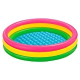 Intex - 57412- Piscine 3 Boudins Fond Gonflable