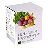 Kit de Salade Psychédélique par Plant Theatre - 5salades étonnantes à cultiver soi-même - Idée cadeau