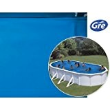 Liner piscine hors sol ovale 5m x 3m x 1,20m - gre FPROV500